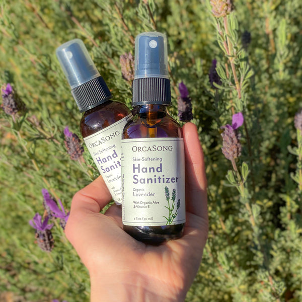 Lavender Hand Sanitizer Spray Travel-Size