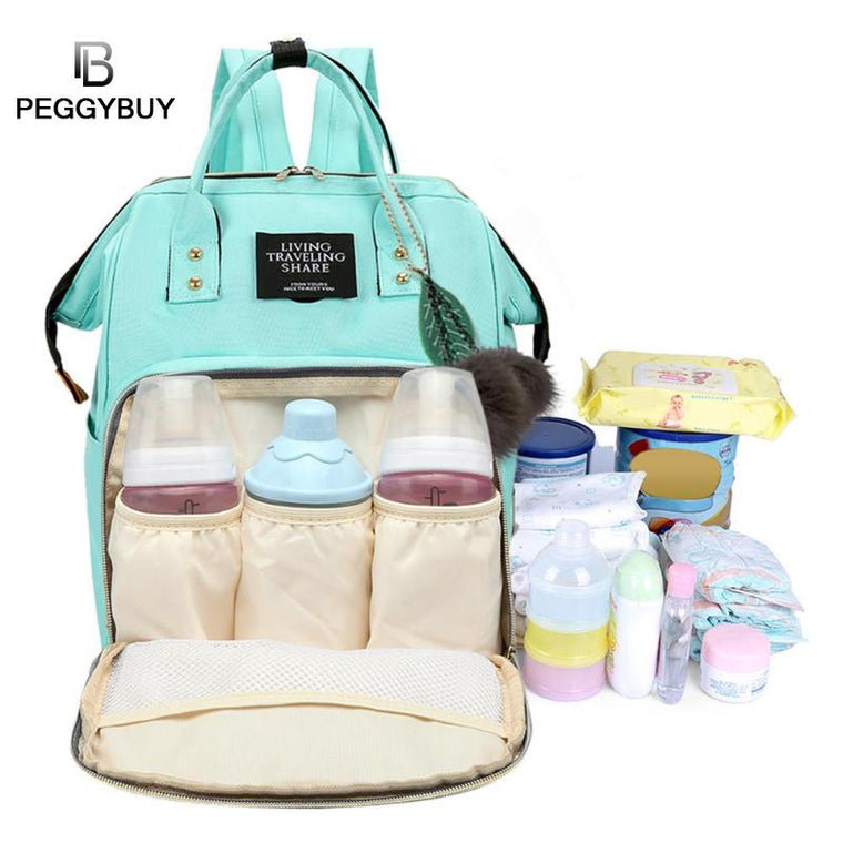 Mommy Diaper Bag Large Capacity Baby Nappy Bag Designer Nursing Bag