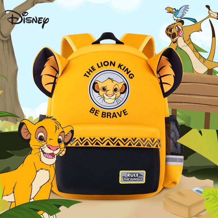 Hot Genuine Disney Simba The Lion King Backpack Kids Boys