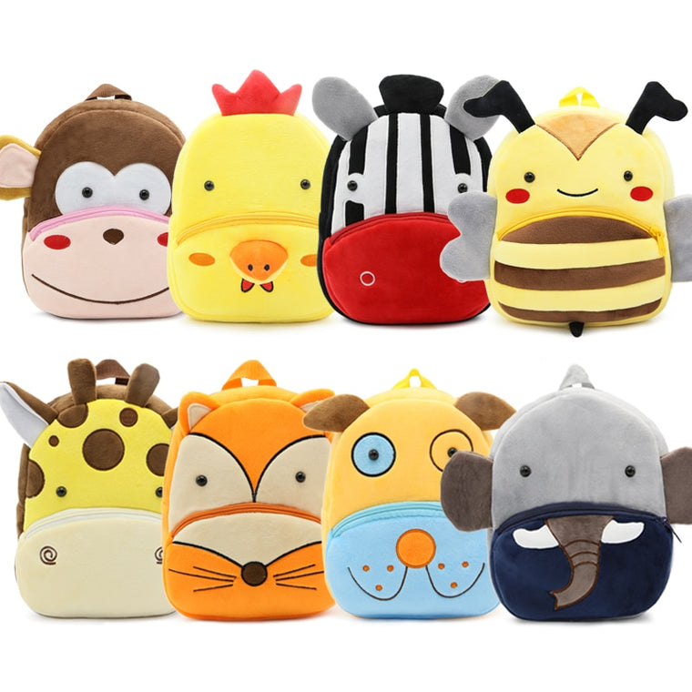 New Kawaii Stuffed Plush Kids Baby Toddler School Bags Backpack