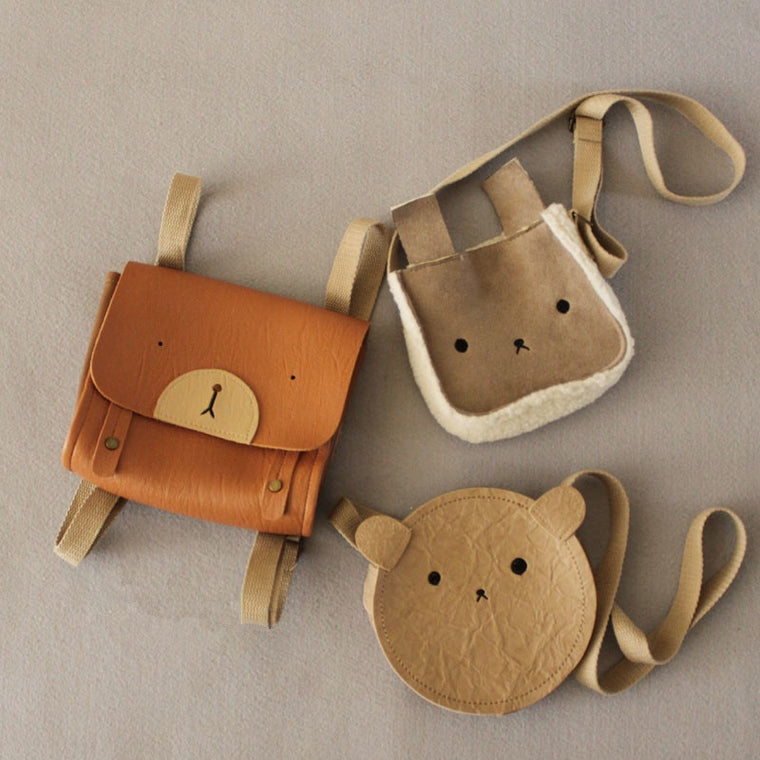 Toddler Lovely Animal Bag Cute Bear Bunny Bear Crossbody Bag