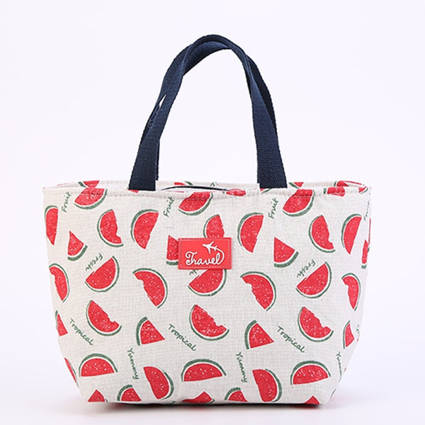 Brivilas lunch bag  for women funny cartoon kids bento cooler bags - swipeproffitnow
