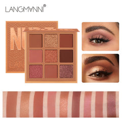 Fashion eyeshadow palette 10Colors Matte EyeShadow naked palette - swipeproffitnow