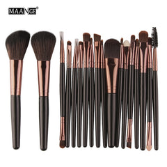 Makeup Brushes Tool Set Cosmetic Powder Eye Shadow - swipeproffitnow