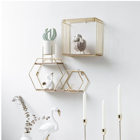Geometric Storage Wall Hanging Rack - swipeproffitnow