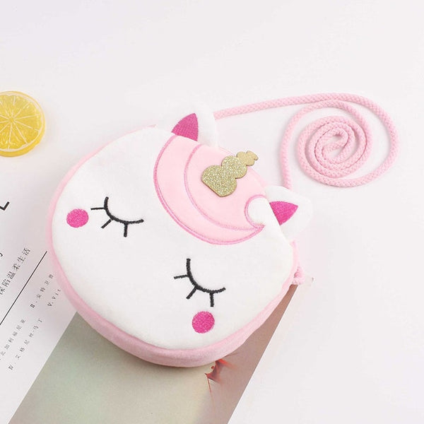 New Fashion Children Girls Shoulder Bag Cute Unicorn Animals Messenger Bag - swipeproffitnow