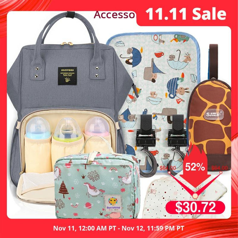 Mommy Diaper Bag Large Capacity Baby Nappy Bag