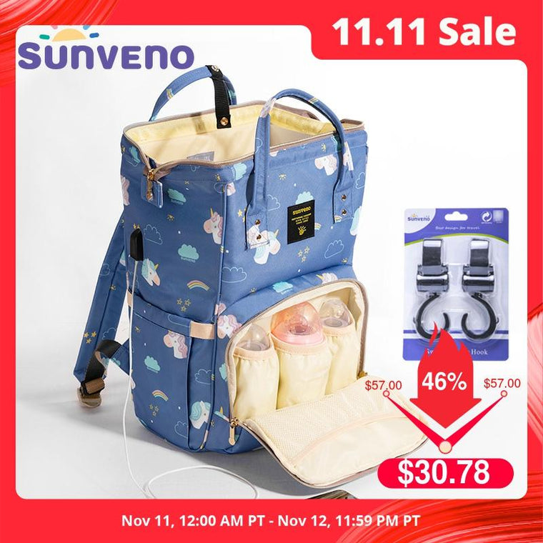 Mummy Maternity Diaper Nappy Bag Organize Large Capacity Baby Bag
