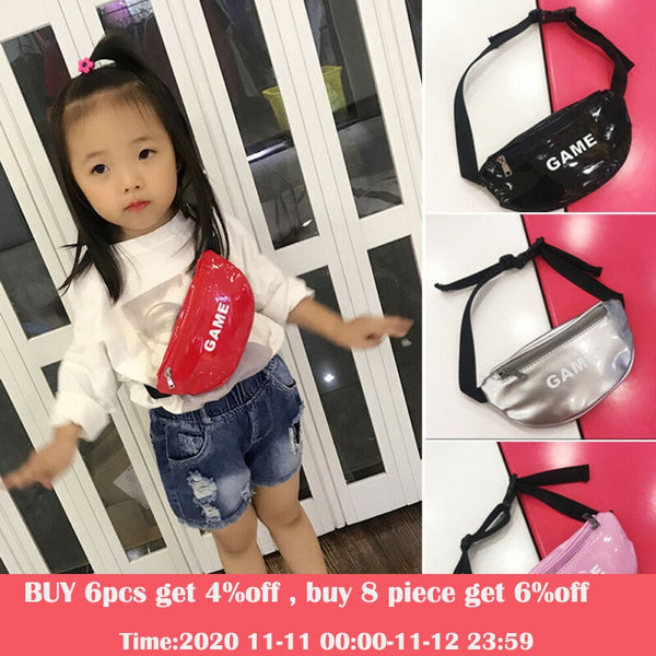 Fashion New Toddler Baby Girls Kids Waist Bag Pack Outdoor Sports - swipeproffitnow