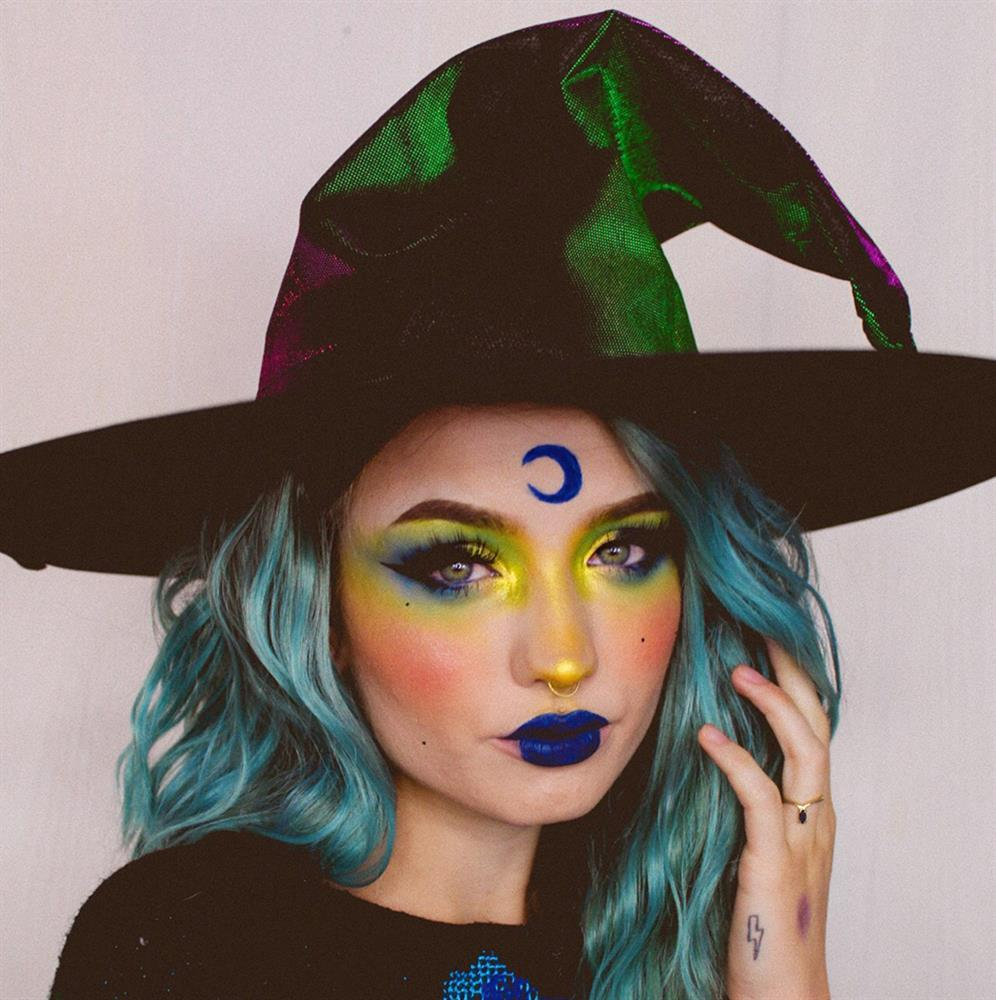 Witch Halloween Makeup Tutorial