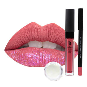 Load image into Gallery viewer, Happy Hour Lip Trio Lip Paint Kit Lip Trio Lip Kit Tattoo Junkee