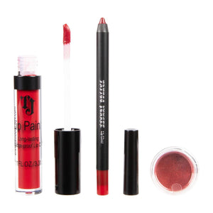 Load image into Gallery viewer, My Lover Lip Trio Lip Paint Kit Lip Trio Lip Kit Tattoo Junkee