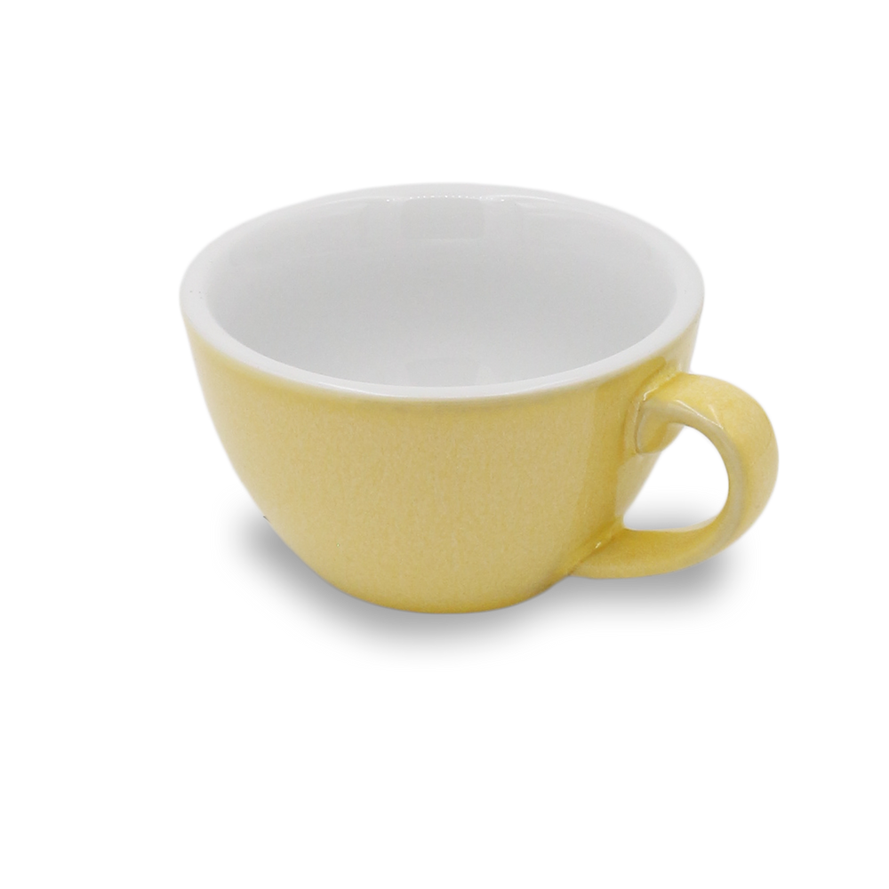 Laden Sie das Bild in den Galerie-Viewer, LOVERAMICS EGG POTTER SERIE CAPPUCCINO TASSE - BUTTER CUP