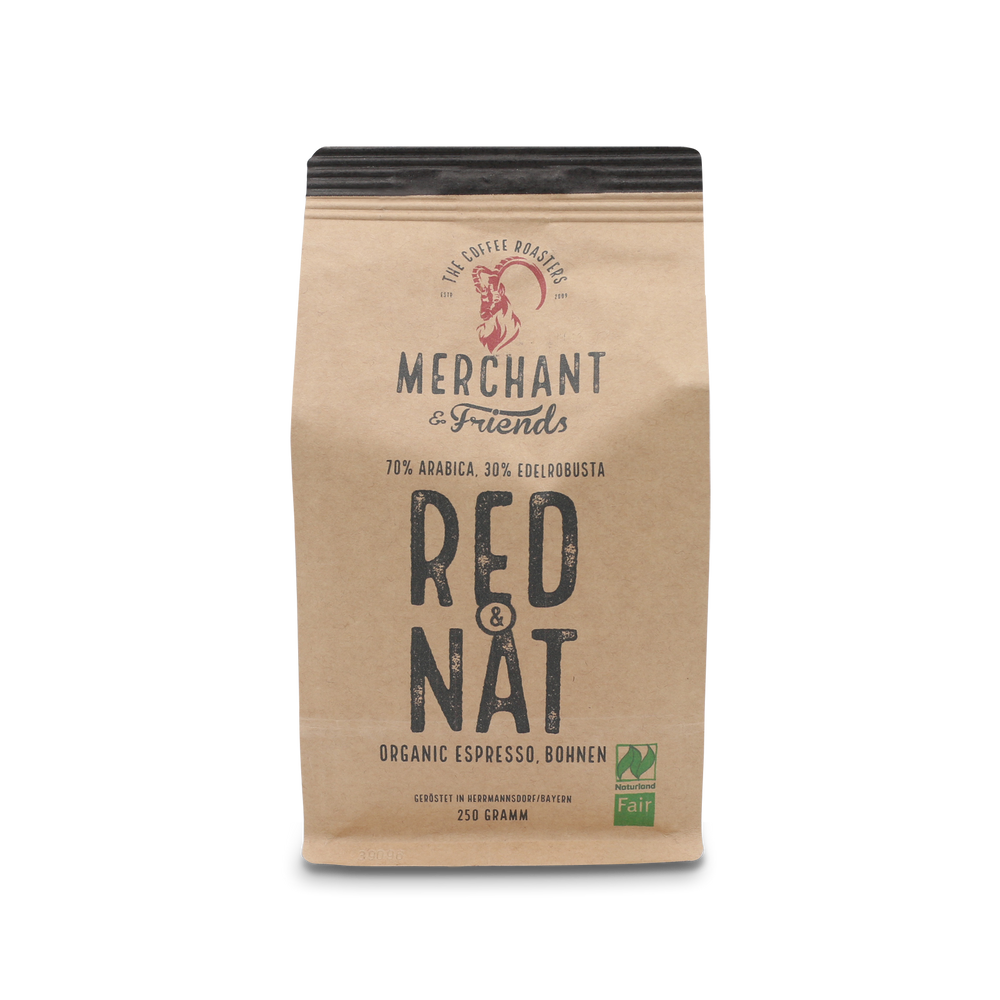 MERCHANT & FRIENDS - RED & NAT 250 GRAMM