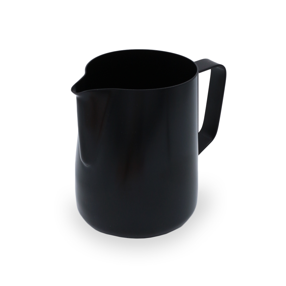 Laden Sie das Bild in den Galerie-Viewer, Rhino Milk Pitcher black 20oz/600ml