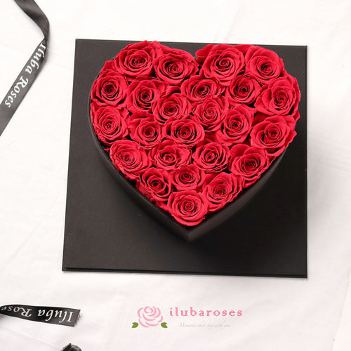 red rose romantic gift bouquet at Iluba Roses Flower shop