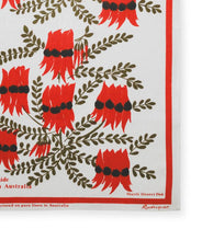Load image into Gallery viewer, Sturt's Desert Pea Linen Tea Towel