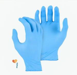 4 Mil Industrial Grade Blue Nitrile Gloves