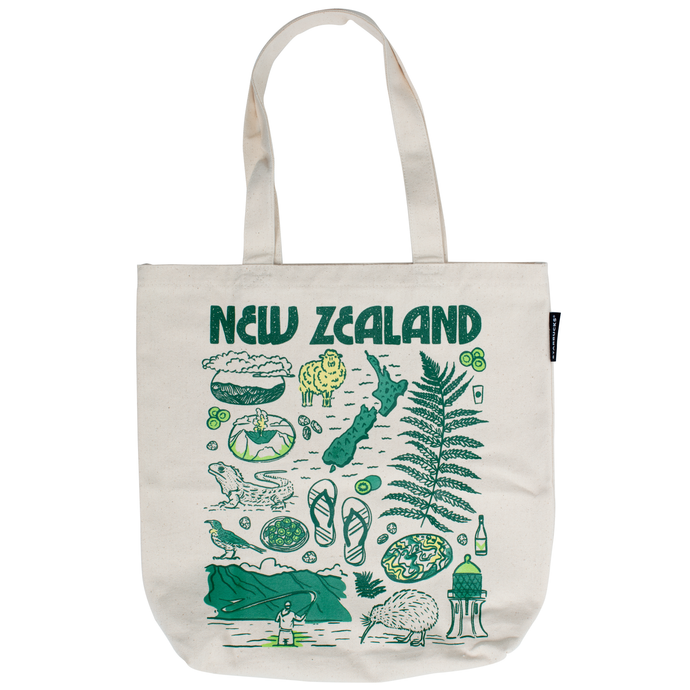 Been There Series: New Zealand Tote Bag