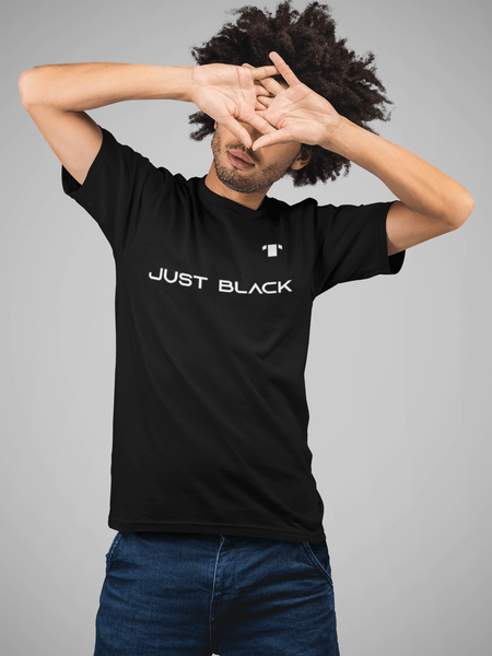 Just Black T-Shirt - Tshack Apparel