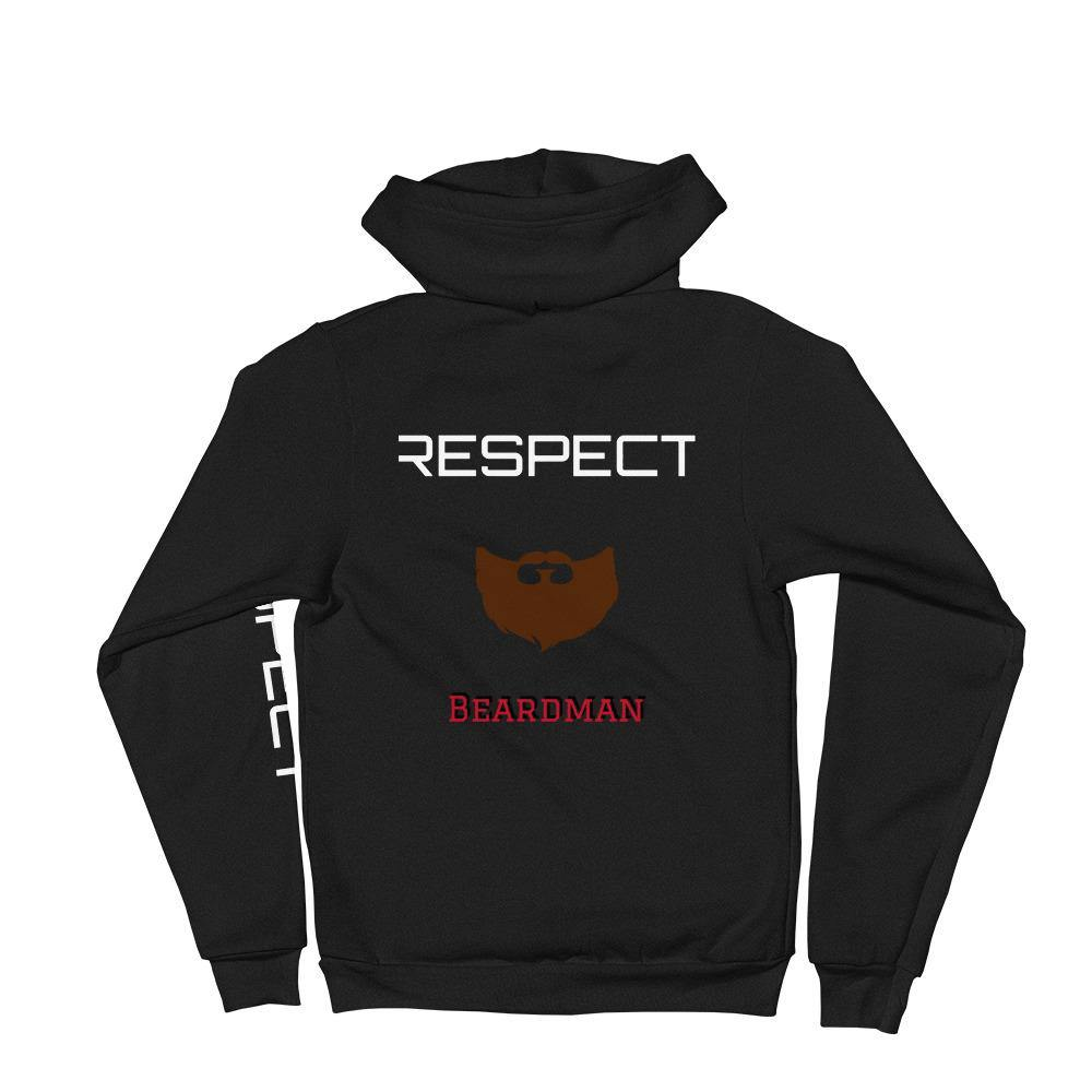 Beardman - Respect - Hoodie sweater - Tshack Apparel