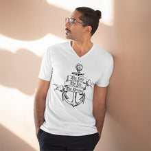 Load image into Gallery viewer, Men's Lightweight V-Neck Tee that is as cool as it gets!