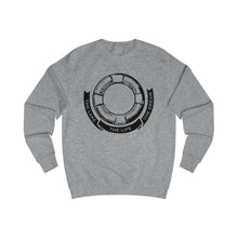 Load image into Gallery viewer, Men's Sweatshirt with a custom design! #thelakethelifethedream