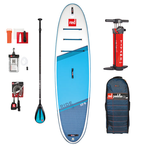 10'6″ RIDE MSL SUP INFLATABLE PADDLE BOARD PACKAGE