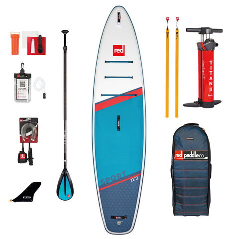 11'3″ SPORT SUP BOARD PACKAGE