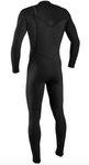 O'NEILL Hyperfreak 5/4 Chest Zip Full Wetsuit, Male