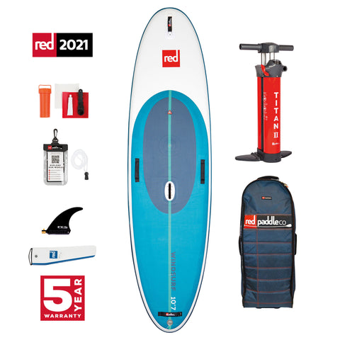 10'7″ WINDSURF PADDLE BOARD PACKAGE