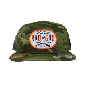 Wild Goose Tropic Green Camo - Mesh Back Hat