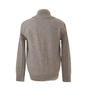 Load image into Gallery viewer, Harbro In Grey Pure Wool Cardigan