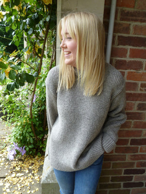 Load image into Gallery viewer, Langley Crew Neck Wool Jumper
