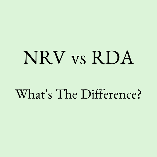 What does NRV mean? (NRV Meaning - Nutrient Reference Value)