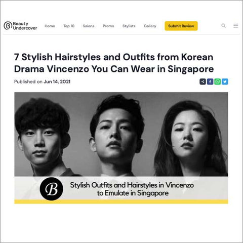Beauty Undercover: 7 Stylish Hairstyles and Outfits from Korean Drama Vincenzo You Can Wear in Singapore