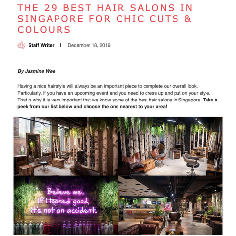 The 29 Best Hair Salons in SIngapore for Chic Cuts & Colours