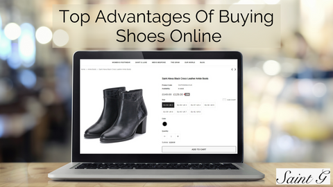 Advantages of buying shoes online