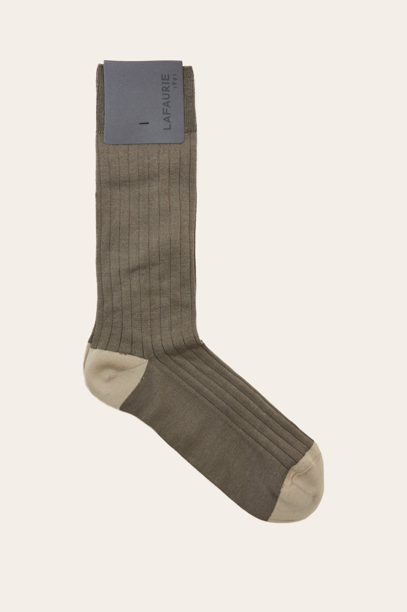 Chaussettes Semaine - Taupe - LAFAURIE