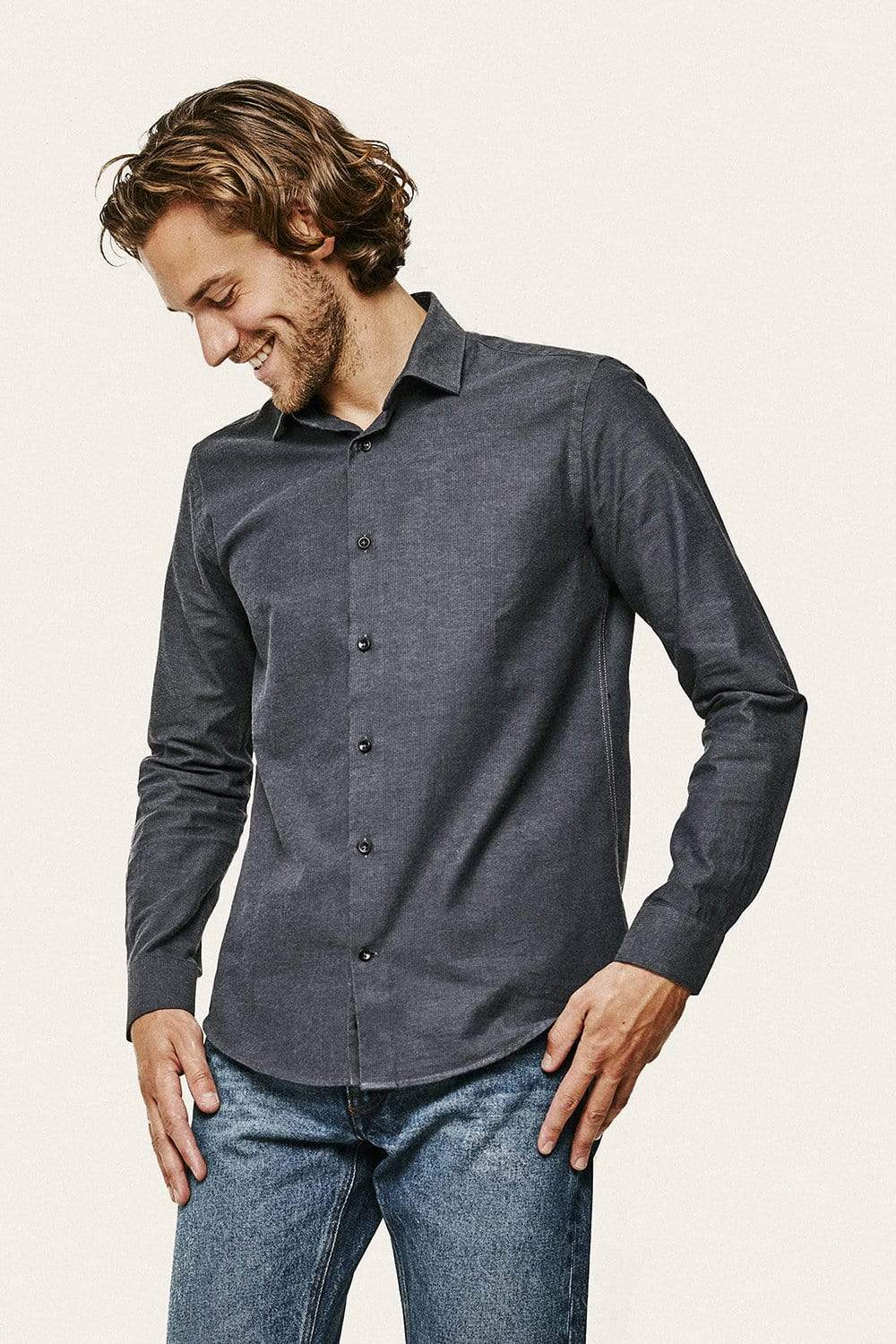 Tober Shirt - Anthracite