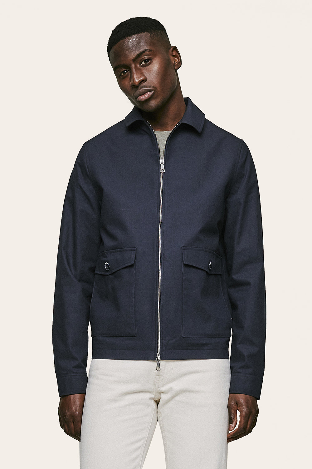 Samo Jacket - Dark Navy