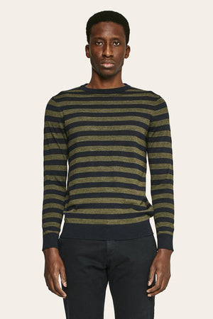 Stripes Sweater - Kaki