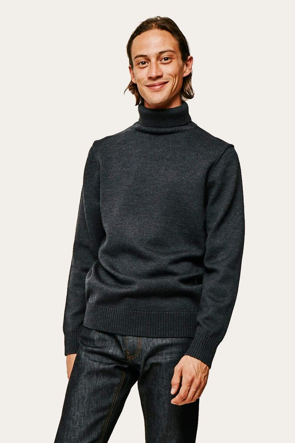 Twist Sweater - Anthracite