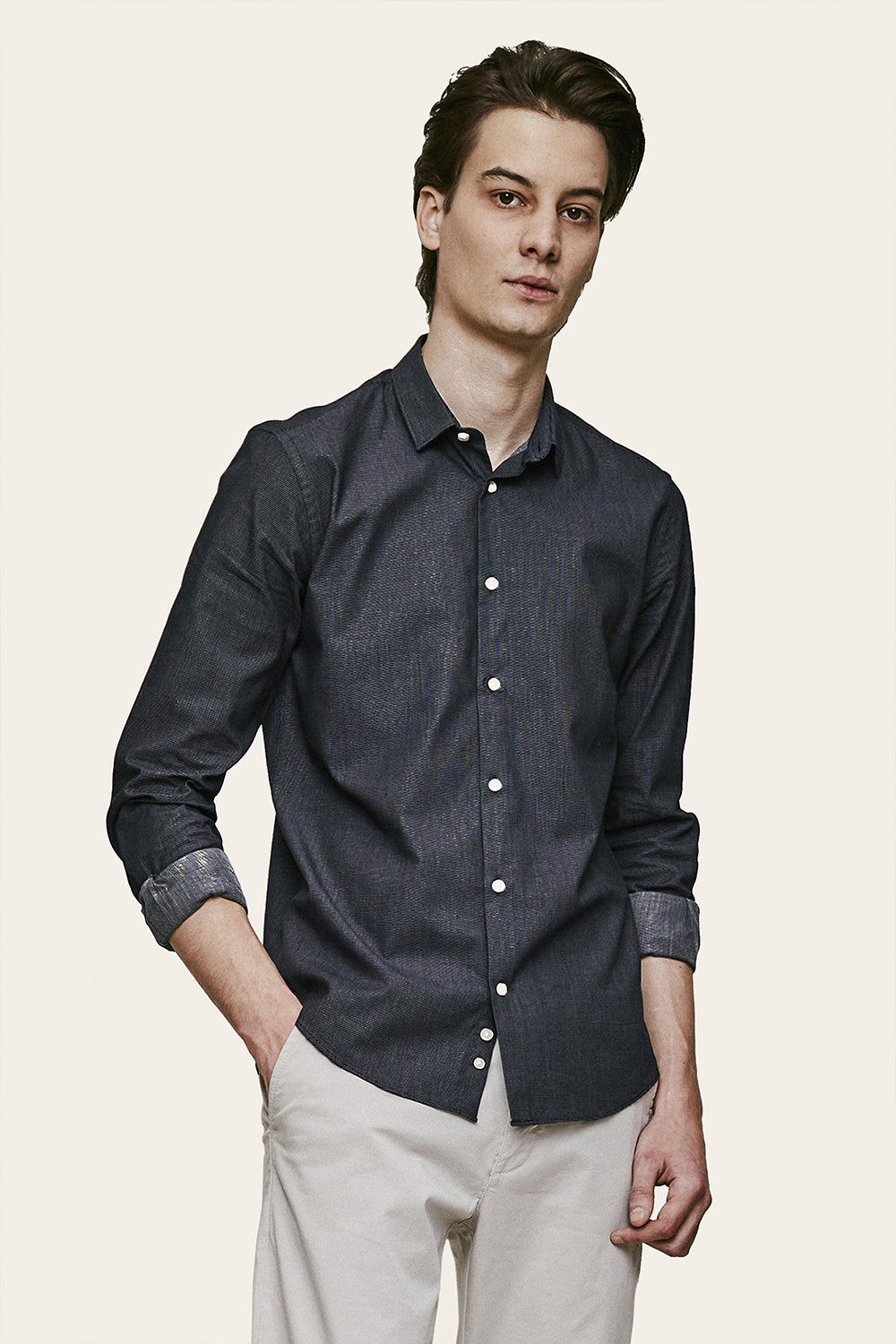 Valse Shirt - Dark Navy
