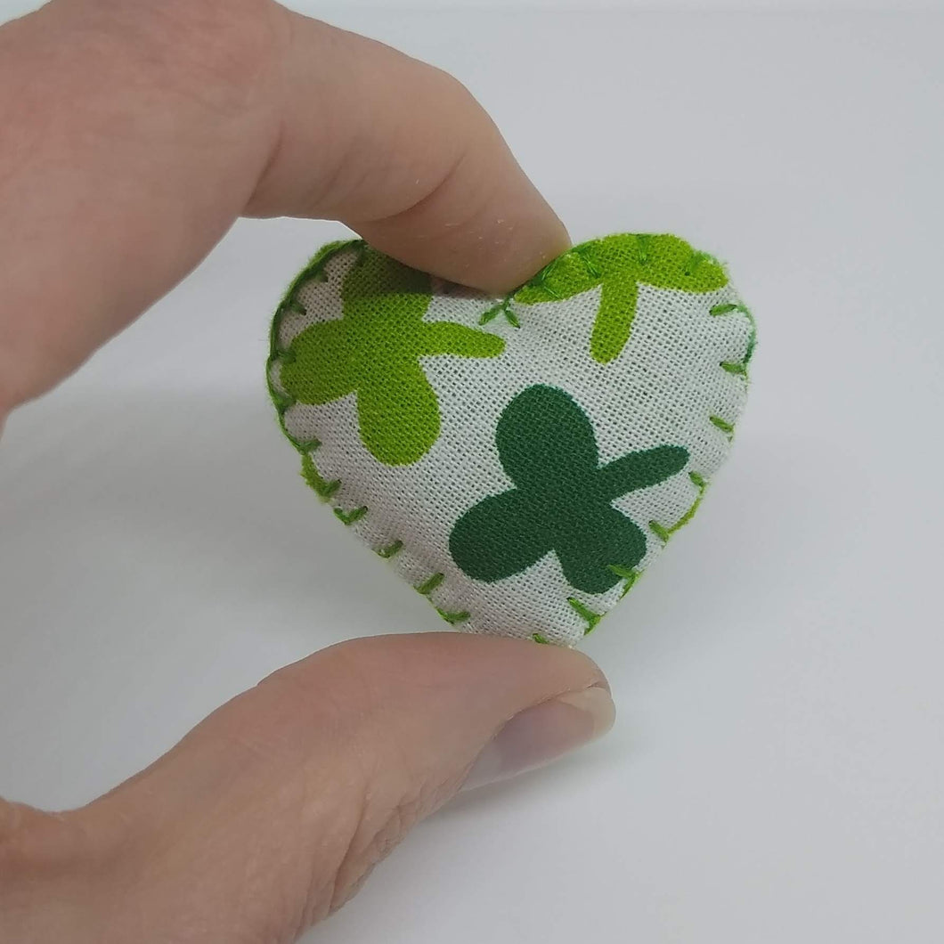 St Patrick's Day Pocket Heart