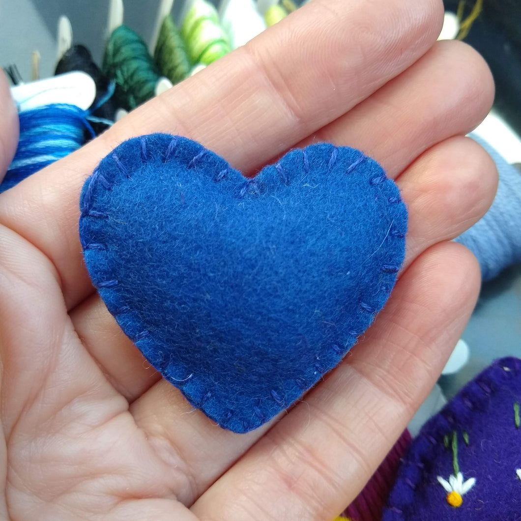 Felt Heart Pocket Hug