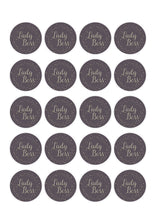 Load image into Gallery viewer, LADY BOSS Stickers | Girl Boss Labels | Branding Stickers Labels | Pink & Gold Silver Stickers | Female Business Stickers |   Packing Labels