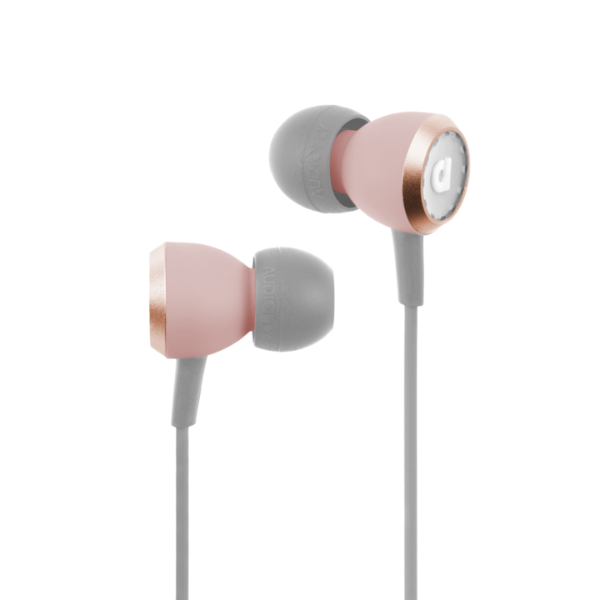 Wired In-Ear Headphone (Mic & Control) AF33C MK2 Dusty Pink