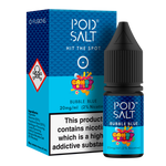 Pod Salt - Candy Rush Bubble Blue Salt 10ml 20mg