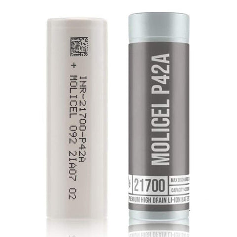 Molicel - P42A 4200mAh 21700 Battery